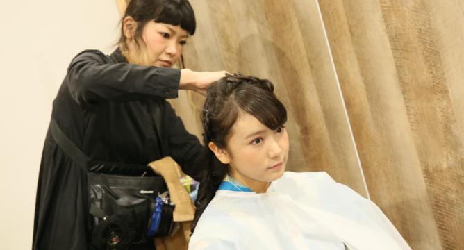 成人式 滋賀県 提携美容室