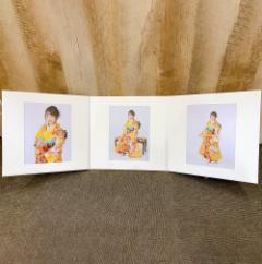写真3枚台紙付き